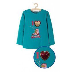 Bluzka dziewczęca niebieska 3H3707 Oferta ważna tylko do 2023-08-09