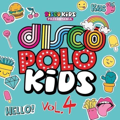 Pozostała muzyka rozrywkowa, DISCO POLO KIDS VOL. 4 - Różni Wykonawcy (Płyta CD)