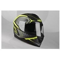 Kaski motocyklowe, LAZER Kask integralny RAFALE Hexa czarny/żółty/mat