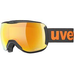 UVEX Downhill 2100 CV Goggles, czarny/pomarańczowy 2021 Gogle narciarskie