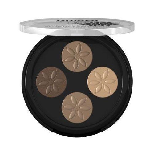 Cienie do powiek, Lavera Trend Sensitiv cienie do powiek quattro Cappucino Cream 02