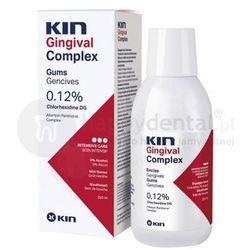 KIN Gingival COMPLEX płyn z chlorheksydyną 0,12% (antyseptyka) 250ml