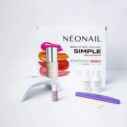 Neonail Zestaw simple starter set basic
