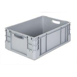 Pojemnik przemysłowy,poj. 40 l, dł. x szer. x wys. 600 x 400 x 220 mm, opak. 4 szt.