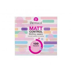 Dermacol Matt Control chusteczki oczyszczające 100 ml dla kobiet