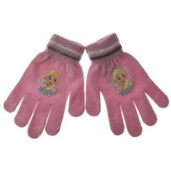 Rękawiczki dziecięce Frozen Kraina Lodu - Pudrowy róż