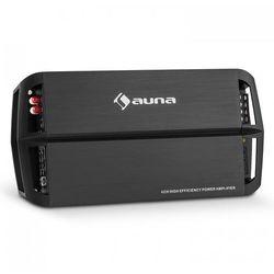 auna AMP490BK 4-kanałowy wzmacniacz samochodowy 360W Klasa A/B