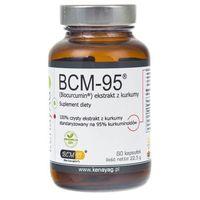 Preparaty ziołowe, BCM-95 ekstrakt z kurkumy (Biocurcumin) (60 kaps.) Arjuna Natural Extracts