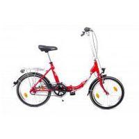 Pozostałe rowery, ALUMINIOWY ROWER SKŁADANY SKŁADAK NISKA RAMA MIFA BIRIA 3-BIEGI SHIMANO, czerwony