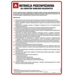 Instrukcja przeciwpożarowa dla obiektów handlowo-usługowych