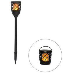 Kolec czarny z efektem płomienia, w tym LED 2W - Toci