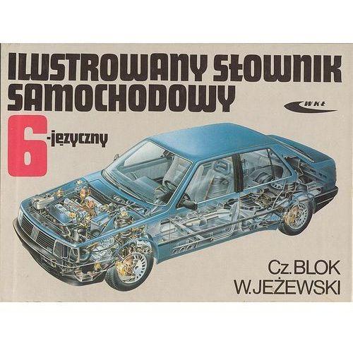 Biblioteka motoryzacji, Ilustrowany słownik samochodowy 6-języczny (opr. twarda)