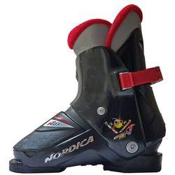 Potestowe buty narciarskie dziecięce Nordica Super 0.1, rozmiar 23.0