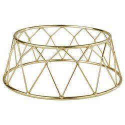 Metalowy stojak bufetowy złoty | różne wymiary