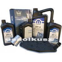 Oleje silnikowe, Olej MOPAR ATF+4 oraz filtry skrzyni biegów Jeep Cherokee 2002-2006