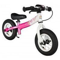 """Rowerki biegowe, Rowerek biegowy 10"""" NISKI od 2 lat BIKESTAR GERMANY sport, kolor pink flamingo"""