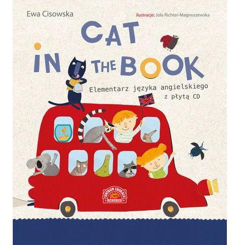 Książki dla dzieci, Cat in the Book Elementarz języka angielskiego z płytą CD (opr. twarda)