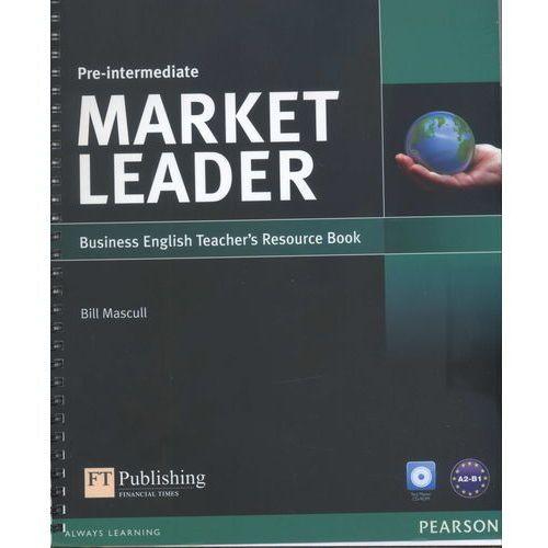 Książki do nauki języka, Market Leader 3rd Edition Pre-Intermediate Teacher's Resource Book with Test Master CD-ROM