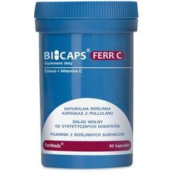 Bicaps FERR C Formeds, Żelazo, 60 kapsułek