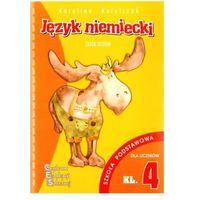 Książki do nauki języka, Język niemiecki - testy SP 4 CES (opr. miękka)
