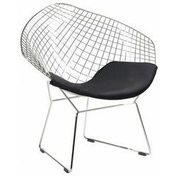 Druciany fotel wypoczynkowy do salonu - Krato