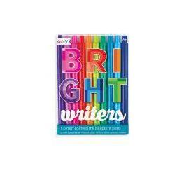 Kolorowe długopisy Bright writers 10 kolorów