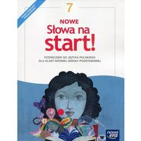 Książki do nauki języka, Nowe Słowa na start! 7 Podręcznik - JOANNA KOŚCIERZYŃSKA, Małgorzata Chmiel, Maciej Szulc, Agnieszka Gorzałczyńska-Mróz (opr. miękka)