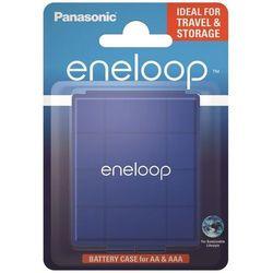 Uniwersalny pojemnik na akumulatorki R6/AA R03/AAA Panasonic eneloop niebieski