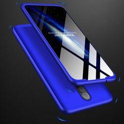 GKK 360 Protection Case etui na całą obudowę przód + tył Xiaomi Redmi 8 niebieski - Niebieski