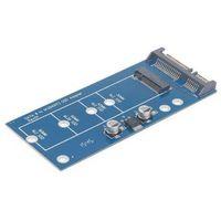 Kable, adaptery, taśmy, Gembird Adapter mini SATA -> M.2 NGFF 1.8
