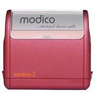Stemple i akcjesoria, Super Pieczątka Modico 3 Bordowa Super Pieczątka Modico 3 Bordowa