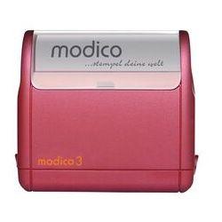 Super Pieczątka Modico 3 Bordowa Super Pieczątka Modico 3 Bordowa