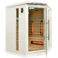 Sauna na podczerwień z koloroterapią DH3C GH White Oferta specjalna! Teraz kupisz 21% taniej.