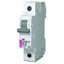 Wyłącznik nadprądowy 1P C 20A 6kA AC ETIMAT 6 002141517 ETI-POLAM