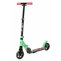 Hulajnoga dla dzieci KID Powerblade różowo-zielona - różowo-zielony