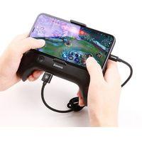 Pozostałe akcesoria GSM, Baseus Cool Play Games chłodzący uchwyt pad gamepad joystick do telefonu do gier powerbank 1200 mAh czarny (ACSR-CW01)