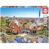 Puzzle, Puzzle 1000 elementów Barcelona widok z parku Guell