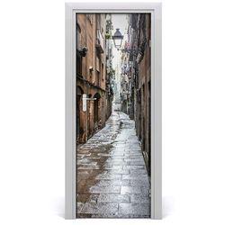 Fototapeta samoprzylepna na drzwi Zabytkowa ulica