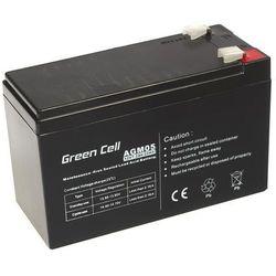 Akumulator AGM 12V 7,2Ah Green Cell