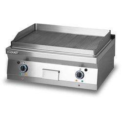 Płyta grillowa elektryczna, ryflowana, 8,1 kW, 800x700x280 mm | LOZAMET, L700.GPE800R