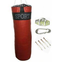 Worek bokserski treningowy 90x30 15kg -PEŁNY + MOCOWANIE