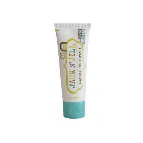Pasty do zębów dla dzieci, Jack N'Jill, Naturalna pasta do zębów, Organiczna Borówka i Xylitol, 50g