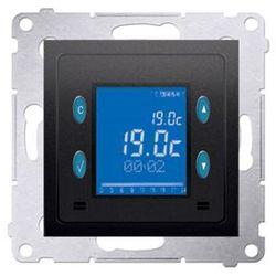 Regulator temperatury Kontakt-Simon 54 D75817.01/48 programowany z wyświetlaczem z czujnikiem wewnętrznym antracyt