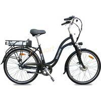"""Pozostałe rowery, Rower elektryczny Mistral 26"""" LX Interbike (czarny) Dostawa GRATIS!"""