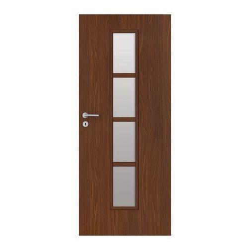 Drzwi wewnętrzne, Drzwi pokojowe Olga 80 prawe orzech