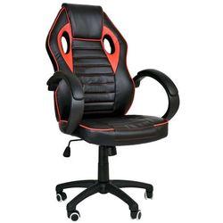 Fotel Dla Gracza Gamingowy Racer 1ST Czerwony