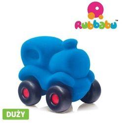 Lokomotywa sensoryczna niebieska duża Rubbabu