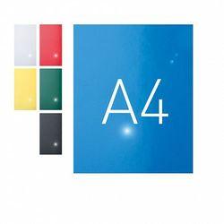 Okładki do bindowania A4 karton błyszczący niebieski O.Exclusive 100szt. OPUS