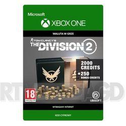 Tom Clancy's The Division 2 - Pakiet 2250 Kredytów [kod aktywacyjny] Xbox One
