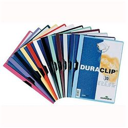 Skoroszyt z klipsem Durable Duraclip Original 30 kartek granatowy 220007